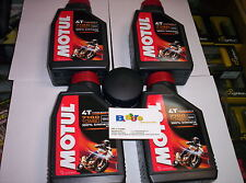 4 LT KIT TAGLIANDO FILTRO OLIO MOTUL 7100 10W60 KTM 990 ADVENTURE R SM T