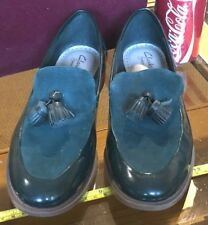 Clarks Somerset Tassel Green Ladies Flats Shoes UK 6.5 / 6