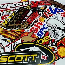 80 MIXED RANDOM STICKER DECAL CAR ATV BIKE RACING HELMET MOTORCROSS_#A