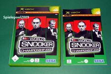 World Snooker Championgship 2005 Microsoft Xbox mit Anleitung u. OVP