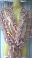 Womans Cotton On Top, Floral pattern, XS, Polyester