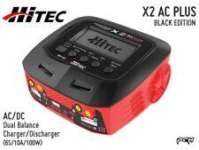 HITEC X2 AC PLUS BLACK EDITION AC/DC Balance Multi-Charger (6S/10A/100W) 44270