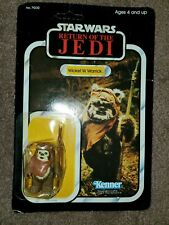 1983 Star Wars ROTJ Return of the Jedi Wicket W. Warrick Action Figure MOC