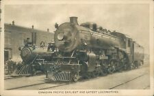 Canadian Pacific Earliest and latest locomotives 1926