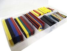 328Pcs 5 Colors 8 Sizes Assorted Heat Shrink Tubing Wrap Sleeve Set Combo Great