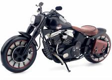 31CM Handmade Antique Harley Motorcycle Tin Metal Reproduction Bike Model