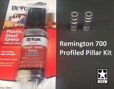 Remington 700 DELUXE Profiled Pillar Stock Pillar Bedding w/ DEVCON M-700, ADL,
