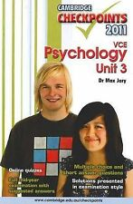 Cambridge Checkpoints VCE Psychology Unit 3: 2011 by Max Jory