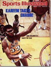 February 14, 1977 Kareem Abdul-Jabbar Los Angeles Lakers Sports Illustrated