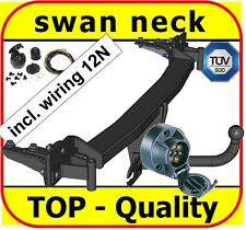 BMW 5 SERIES 1995-2003 E39 Saloon Swan Neck Tow Bar with Electric Kit 7Pin