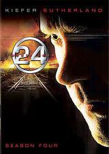 "NEW Wrapped FOX TV ""24"" - Season 4 Complete (Widescreen DVD, 2009, 7-Disc Set)"