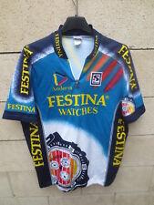 VINTAGE Maillot cycliste FESTINA Tour de France 1995 VIRENQUE jersey shirt XXL