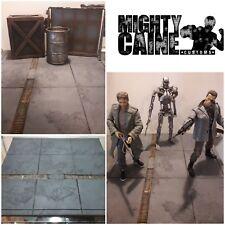 Custom DIORAMA ACERA. 1/6, Neca, Sh Higo, Marvel Leyendas, Black Series, Mezco