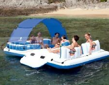6-person Floating Island Lounger Raft Pool Toy Bestway CoolerZ Tropical Breeze1