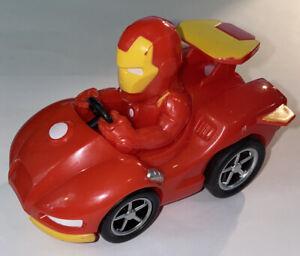 Iron Man Marvel Super Hero Adventures: Pull Back & Go Action Race Car Racer