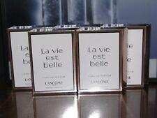 5 Lancome Paris LA VIE est BELLE Eau de Parfum EDP .04 oz Sample Spray Vials