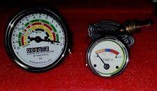 Fordson Dexta / Super Dexta (Diesel) Tachometer+Temperature Gauge