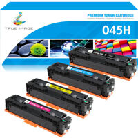 4PK Compatible for Canon Toner 045H Color imageCLASS MF632CDW 634CDW LBP-612CDW