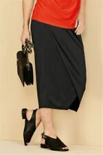 BNWT NEXT Ladies Black Maternity Wrap Midi Skirt Size 14