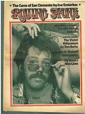 ROLLING STONE NEWSPAPER MAGAZINE - Issue 142 August 30 1973 SLY STONE