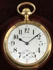 "South Bend "" The Studebaker "" 17 Jewels Grade 223 Pocket Watch 14k - Very Rare"