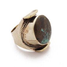"""Turquoise 11"""" Ring Tibetan Nepalese Handmade Tibet Nepal By Eksha RG61"""