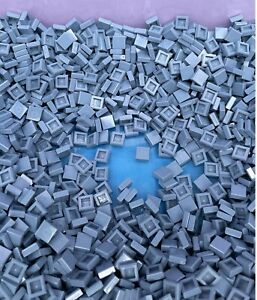 LEGO 3070 - NEW 1x1 Sand Blue Smooth Tiles / 100 Pieces Per Order