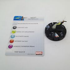 Heroclix Chaos War set Wasp #004 Fast Forces figure w/card!