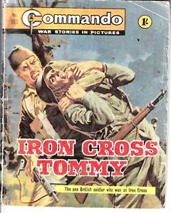 COMMANDO COMIC - No 351   IRON CROSS TOMMY