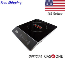 1800watt portable induction cooktop countertop burner with touch control timer