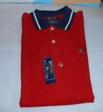 American Living Boys Short Sleeve Polo Shirt Bonfire Red L/16-18 NWT