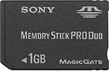 used SONY Memory Stick PRO Duo 1GB MSX-M1GST