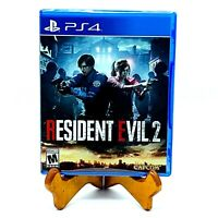 Resident Evil 2 Sony Playstation 4 PS4 Horror Video Game Brand New Sealed