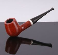Mr. Brog Producer Workshop New Handmade Pipe no.87 Atachee Teak Pear Wood Silver