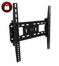 LCD LED PLASMA TV WALL MOUNT BRACKET TILT 30 32 37 40 42 45 46 47 50 55 LOCKABLE