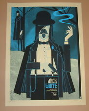 Jack White Methane Studios Columbus OH Poster Print Signed Numbered 2012