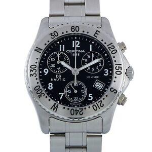 Certina DS Nautic Chronograph Black Dial Men's Watch C542.7118.42.69
