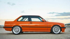 Performance Pair of Side skirts addons valances extensions For Bmw E30