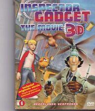 Inspector Gadget-The Movie 3 D dvd movie