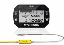 AIM Mychron5 GPS Laptimer Datalogger Dash + Cylinder Head Temp Sensor GO KART