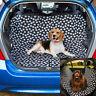 Paw Car Boot Liner Rear Back Hammock Seat Cover Waterproof Dog Protector Mat