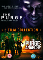 The Purge/The Purge: Anarchy DVD (2014) Lena Headey, DeMonaco (DIR) cert 15 2