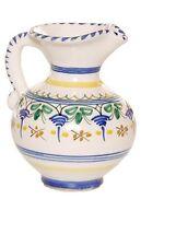 "Spanish Majolica Classica Pitcher 5"" Tall Spain, ceramic, pottery"