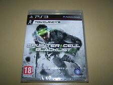 Tom Clancy`s Splinter Cell: Blacklist (Sony PlayStation 3) **New and Sealed**