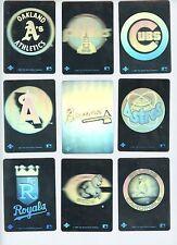 1991 Upper Deck  MLB BASEBALL Hologram Sticker Cards 3 FOR $2.95
