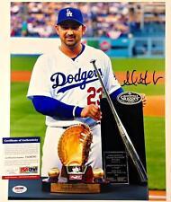 ADRIAN GONZALEZ Autograph DODGERS Signed 11x14 Photo PSA/DNA ITP Witness COA (c)