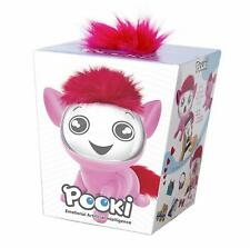 Pooki Interactive Pet with Sound, Movement and Animated Screen, Pink, Ideal Gift