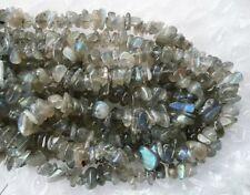 UK cheapest-high quality Labradorite chips 10x6mm Gemstone Beads free postage
