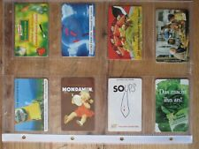 Phone Cards Knorr Mondamin Mazola, One Series,8 Piece, Full Ungebracht