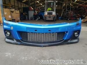 2007 Vauxhall Astra H VXR Front Bumper Arden Blue 93186596 84108
